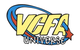 VCFA universe logo