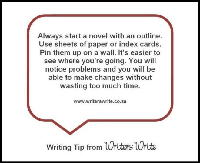 Always start an outline
