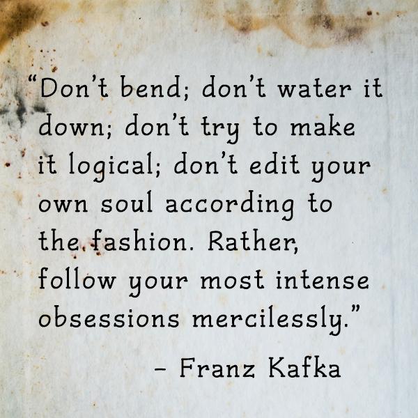 Quote of the Week: Franz Kafka - Ingrid Sundberg