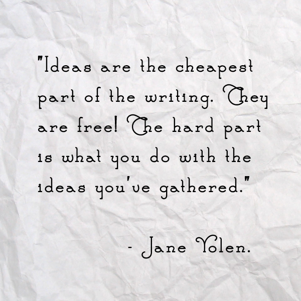 Jane Yolen Quote