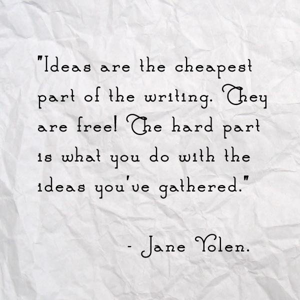 Jane Yolen Quote