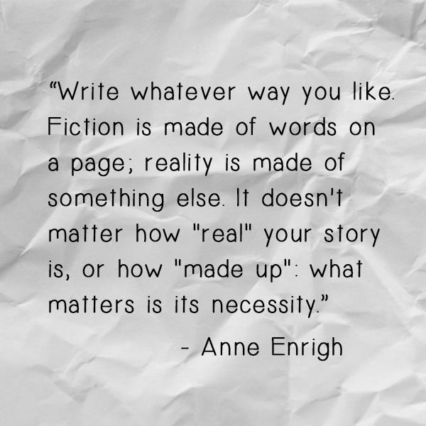 Anne Enrigh Quote