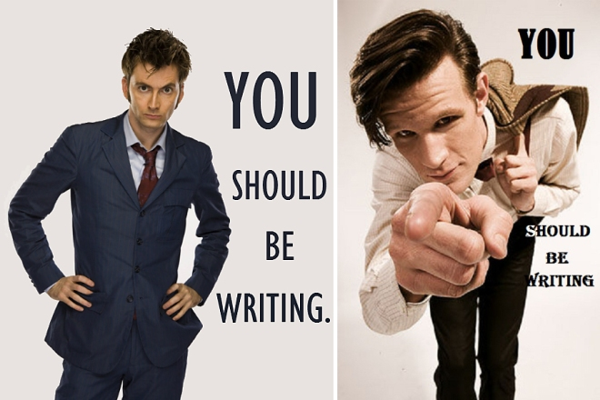 Doctor Who you should be writing
