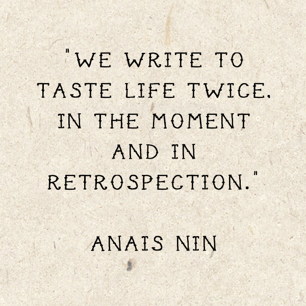 Quote of the Week: Anais Nin | Ingrid's Notes