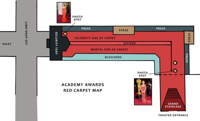Red Carpet Map