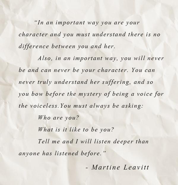 Martine Leavitt Quote