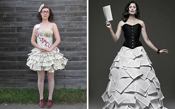 Book Dresses