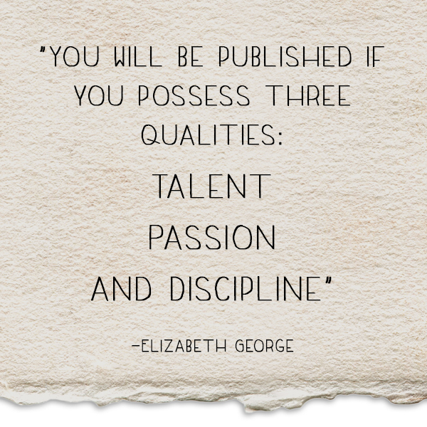 Elizabeth George Quote Revised