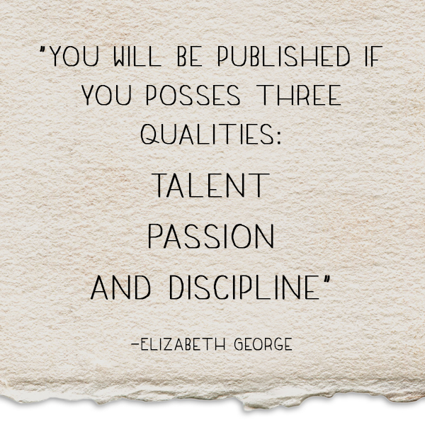 Elizabeth George Quote