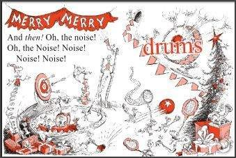 How The Grinch Stole Christmas Book Illustrations.A Merry Merry Dr Seuss Display Ingrid S Notes