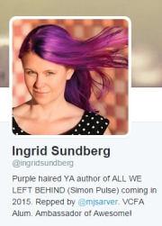 Ingrid on twitter