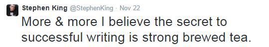 Stephen King Tweet