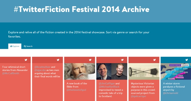 Twitter fiction festival archive